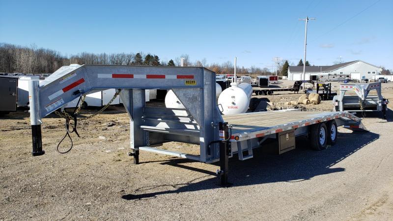 "New Galvanized 102"" x 20' + 5' Gooseneck Trailer - Corrosion Resistant in Ashburn, VA"