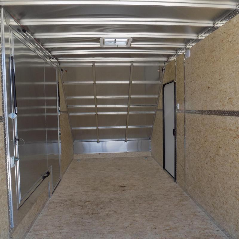 New Legend All Sport Deluxe 7' x 17' Aluminum Enclosed Trailer