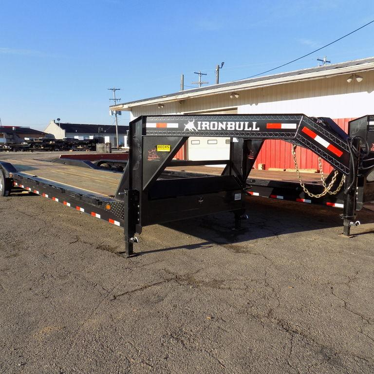 "New Iron Bull 102"" x 40' Gooseneck Equipment Trailer"
