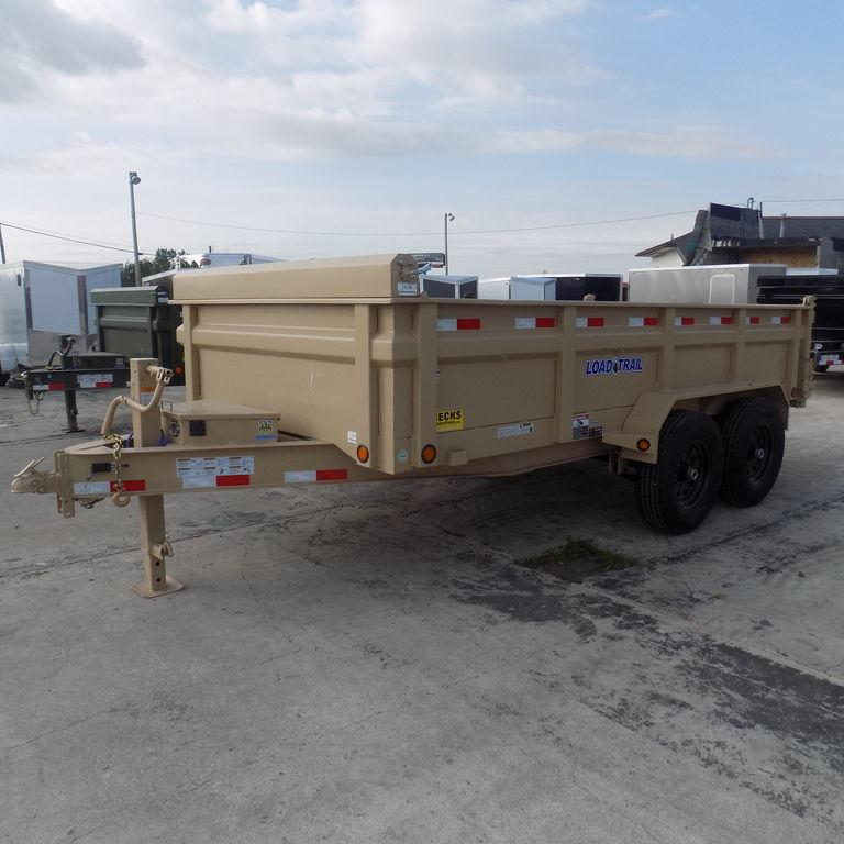 "New Load Trail 83"" x 14' Dump Trailer -Payments of 159/mo."