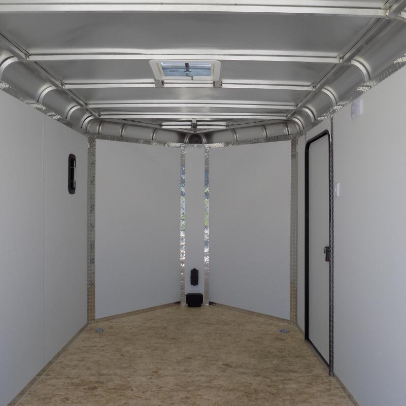 New Legend Deluxe V Nose 7' X 15' All Aluminum Cargo Trailer For Sale