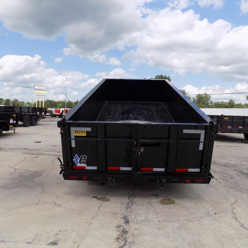 "New Diamond C Trailers 82"" x 16' Low Pro Dump Trailer For Sale"