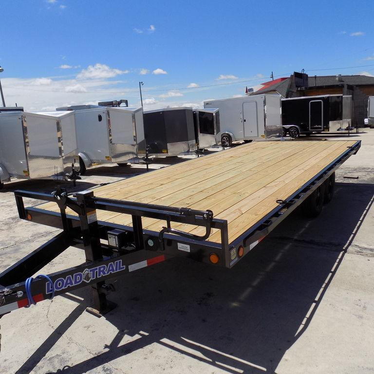 """New Load Trail DK10 102"""" x 20' Deckover Trailer For Sale"""