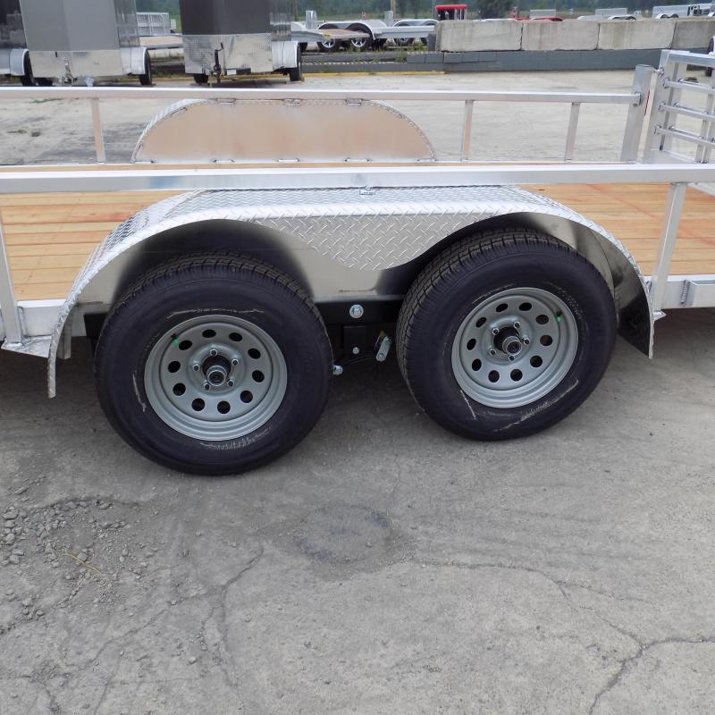 New Legend Open Deluxe 7' x 18' Aluminum Utility Trailer For Sale