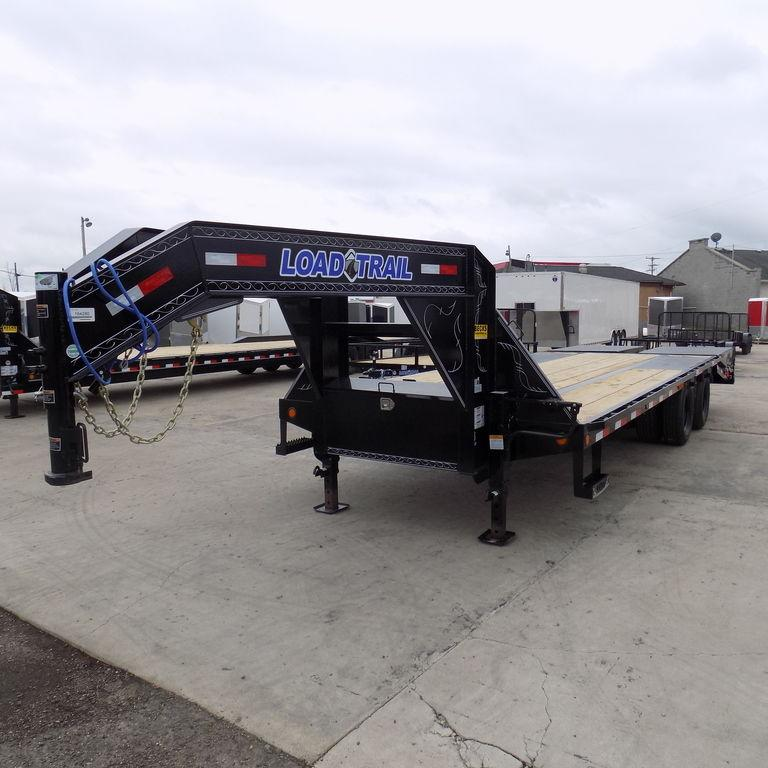 "New Load Trail GP22 102"" x 20' + 5' Gooseneck Trailer - 22K Weight Rating"