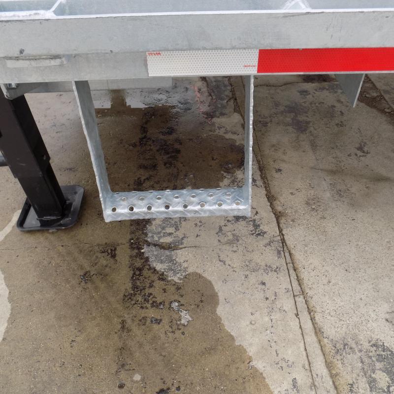 """New Galvanized 102"""" x 34' Gooseneck Trailer - Corrosion Resistant"""