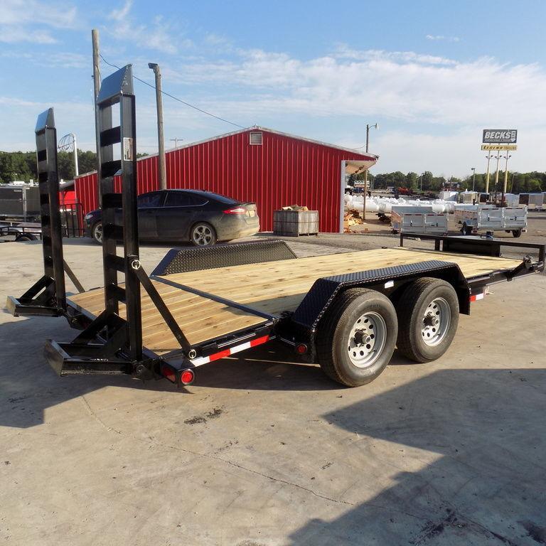 "New Load Trail 83"" x 16' Open Car Hauler On Sale"