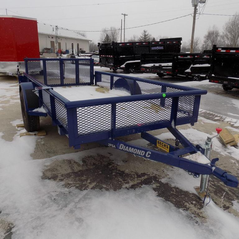 New Diamond C 5' x 10' Untility Trailer for Sale