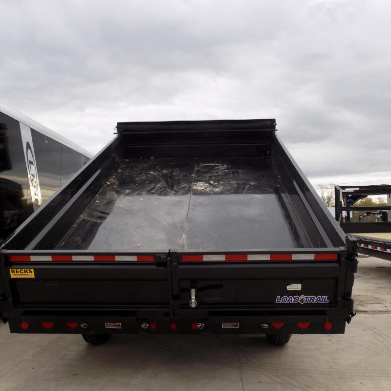 "New Load Trail 96"" x 14' Gooseneck Dump Trailer For Sale"