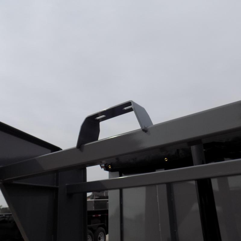 New Diamond C Gooseneck Dump Trailer with 10K Torsion Axles