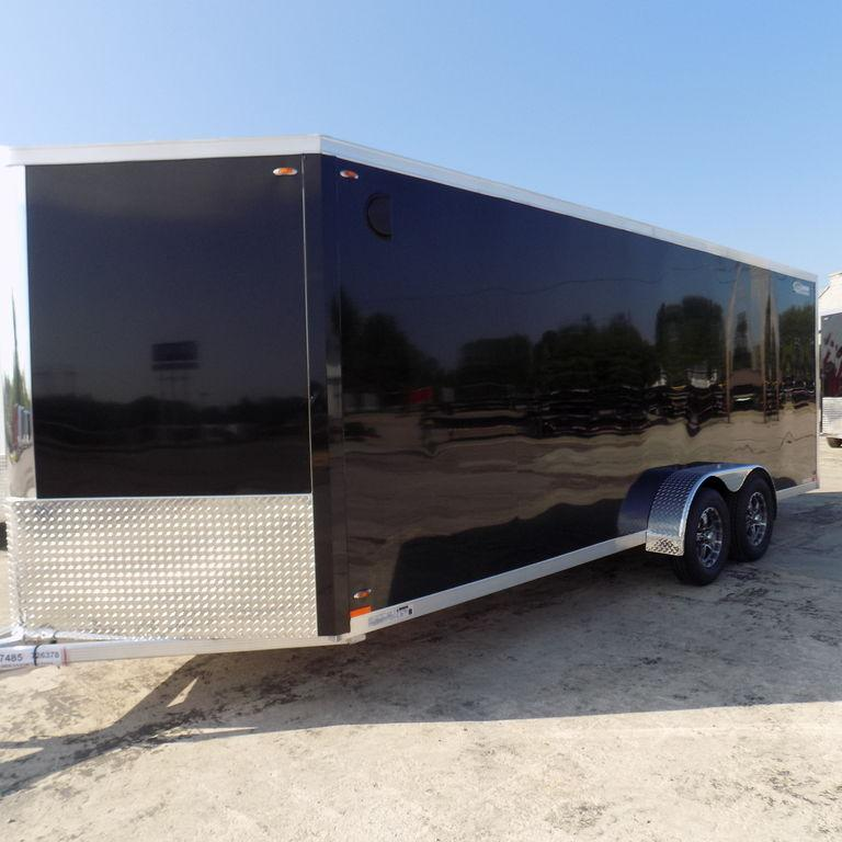 New Legend FTV 7' X 23' Aluminum Enclosed Cargo Trailer For Sale  BECKS HAVE THE BEST DEAL GUARANTEE! FITS 2 UTV's