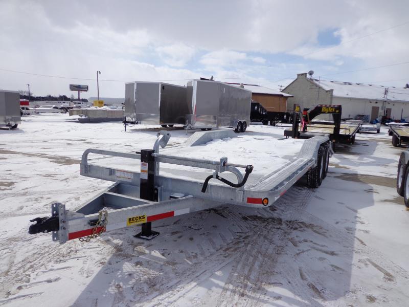 "New Galvanized 102"" x 20' Equipment Trailer - Galvanized Steel Deck in Ashburn, VA"