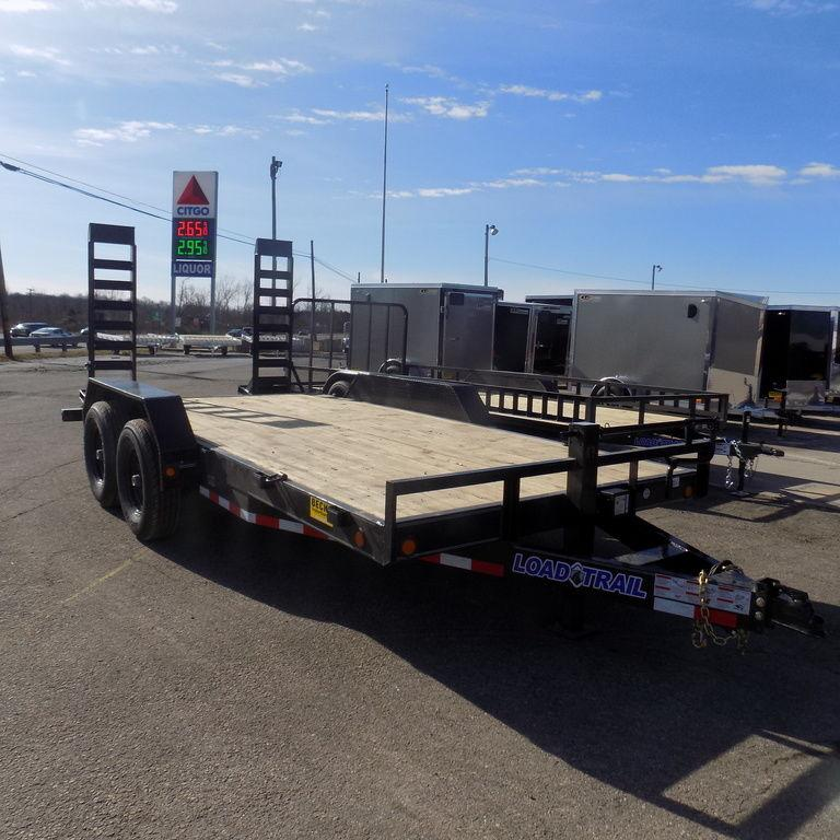"New Load Trail 83"" x 16 Open Car Hauler/Equipment Trailer"