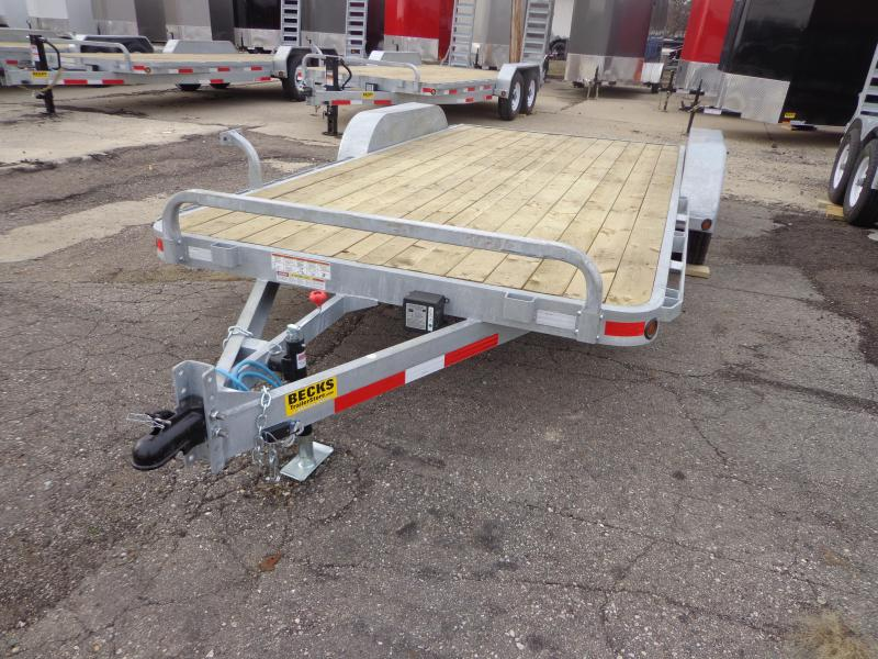"New Galvanized 83"" x 16' Car Hauler - Corrosion Reistant"