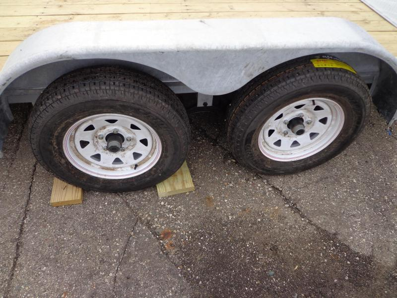 "New Galvanized 83"" x 16' Car Hauler - Corrosion Reistant"