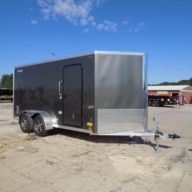 New Legend FTV 7' x 17' Aluminum Enclosed Cargo For Sale
