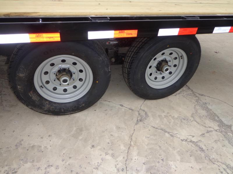 """New Load Trail DK14 102"""" x 20' Deckover Trailer - 14K Weight Rating"""