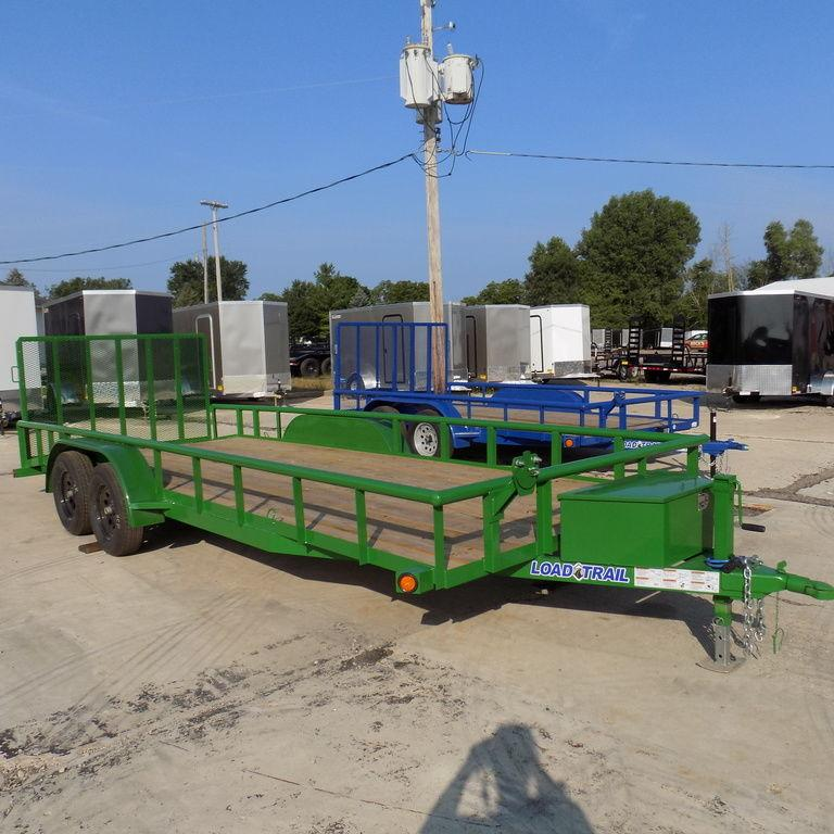 "New Load Trail UE07 83"" x 20' Open Utility Trailer for Sale"