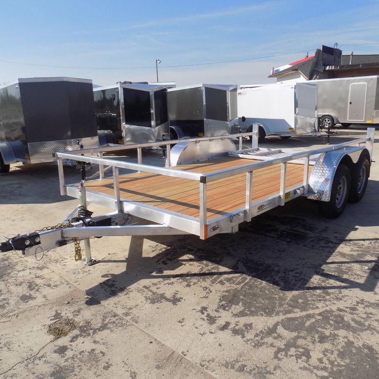 New Legend Open Deluxe 7' x 14' Aluminum Utility Trailer For Sale in Ashburn, VA