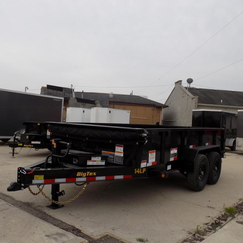 New Big Tex Trailers 14LP 7' x 14' Low Pro Dump Trailer