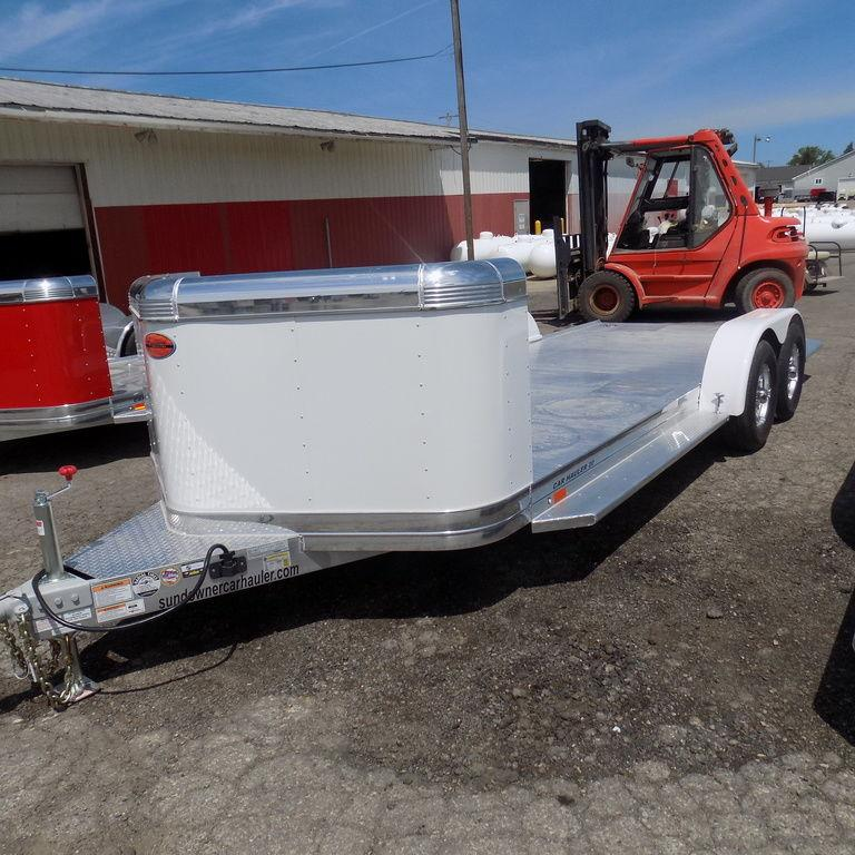 New Sundowner 20' Aluminun Open Car Hauler