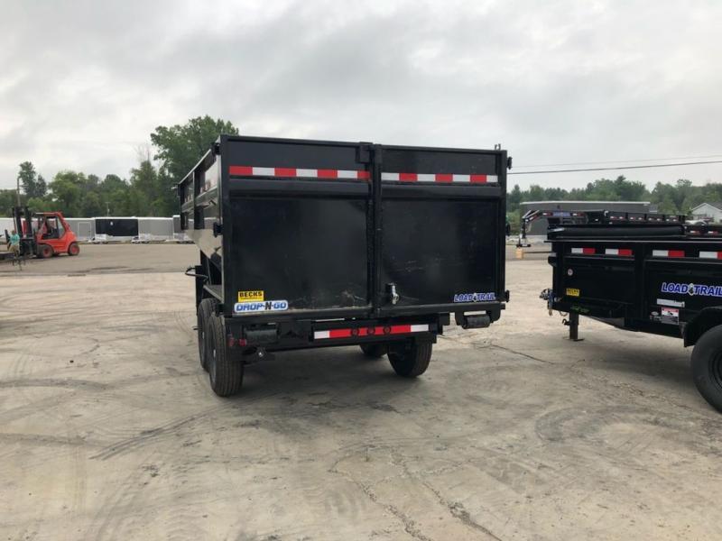 "New Load Trail GM14 83"" x 14' Roll Off Gooseneck Dump Trailer for Sale"