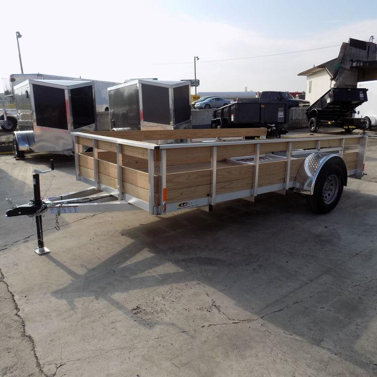 New Legend Trailers Aluminum 3 Board High Side ALHS 6X12ALHSSA
