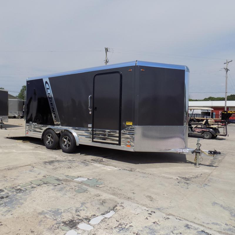 New Legend Deluxe V-Nose 8' x 19' Enclosed Cargo Trailer - LOADED!