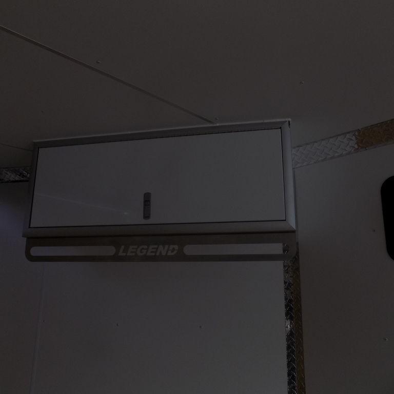New Legend Explorer 7' x 29' Aluminum Snowmobile Trailer For Sale