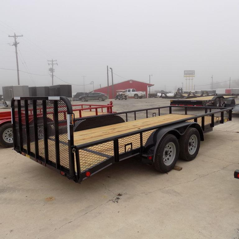 "New Load Trail UT 83"" x 18' Open Utility Trailer for Sale"