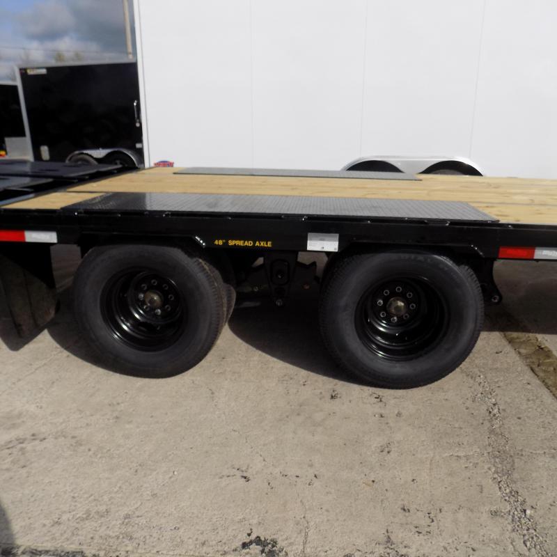 "Big Tex 102"" x 20' + 5' Gooseneck Equipment Trailer With Mega Ramps"