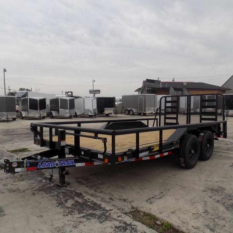 "New Load Trail CS14 102"" x 16' Open Car Hauler / Equipment Trailer for Sale"