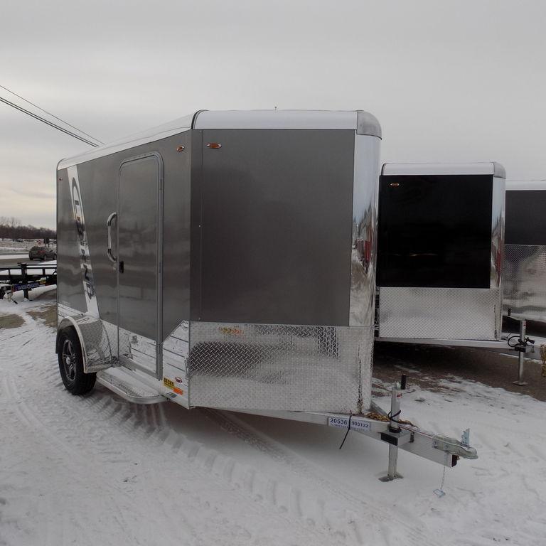 New Legend Trailers Deluxe V Nose Cargo 6X13DVNSA