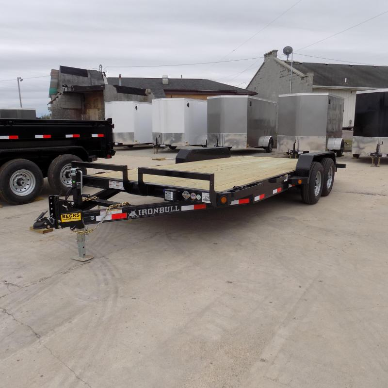 "New Iron Bull 83"" x 18' Car/Equipment Trailer For Sale"