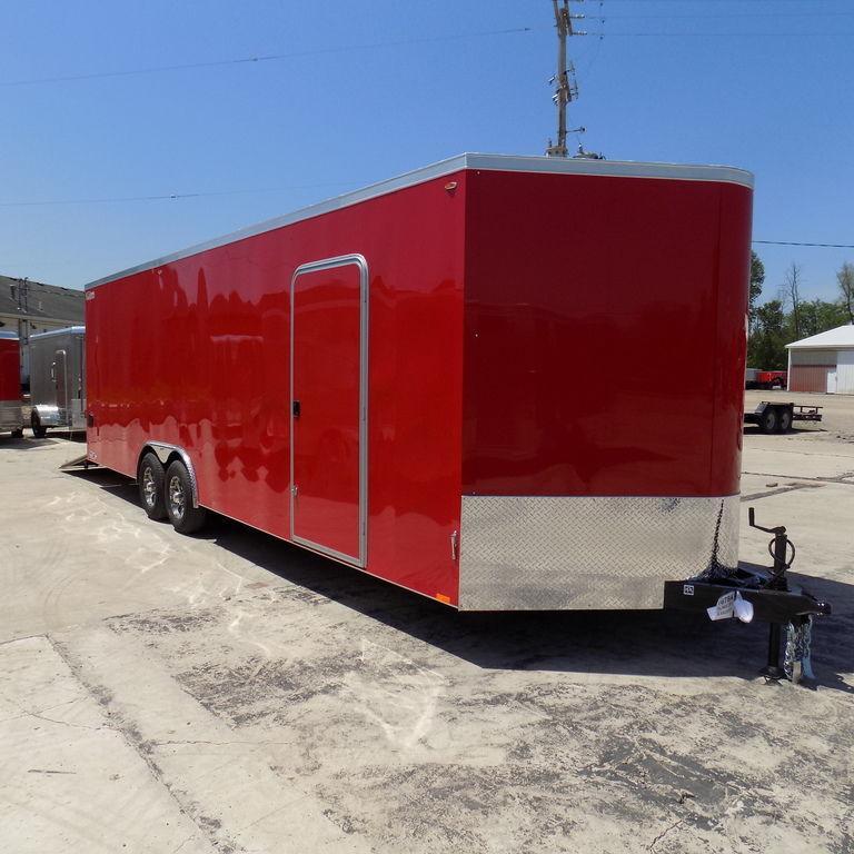 New Legend Cyclone 8.5' x 28' Enclosed Car Hauler / Cargo Trailer