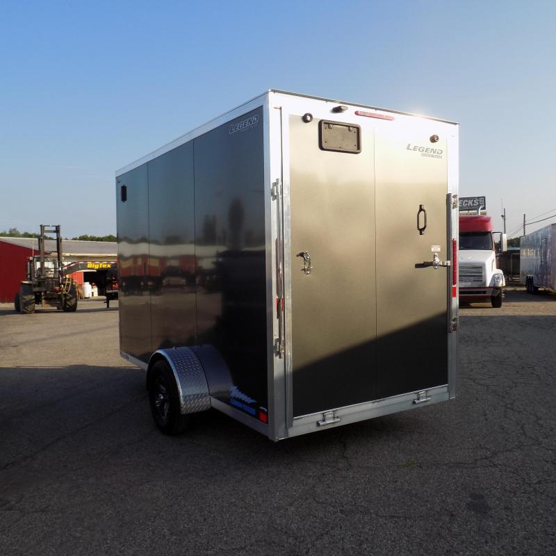 New Legend Thunder 6' X 13' Aluminum Enclosed Cargo Trailer For Sale