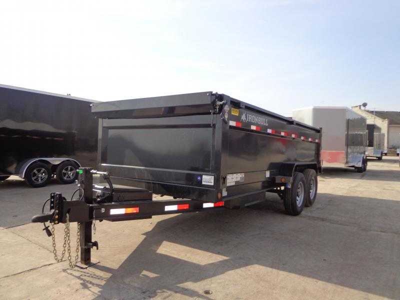 New Iron Bull DTB8316072 Dump Trailer