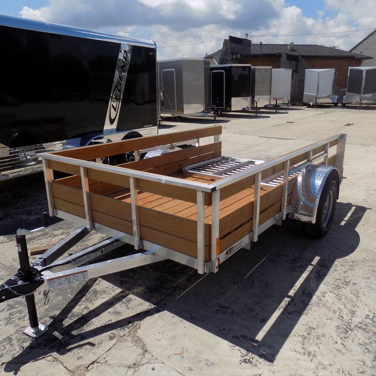 New Legend Trailers Aluminum 3 Board High Side 6X10ALHSSA