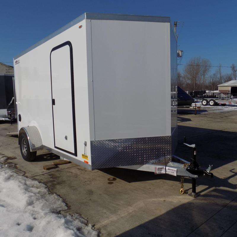 New Legend Thunder 7' x 14 Aluminum Enclosed Cargo For Sale