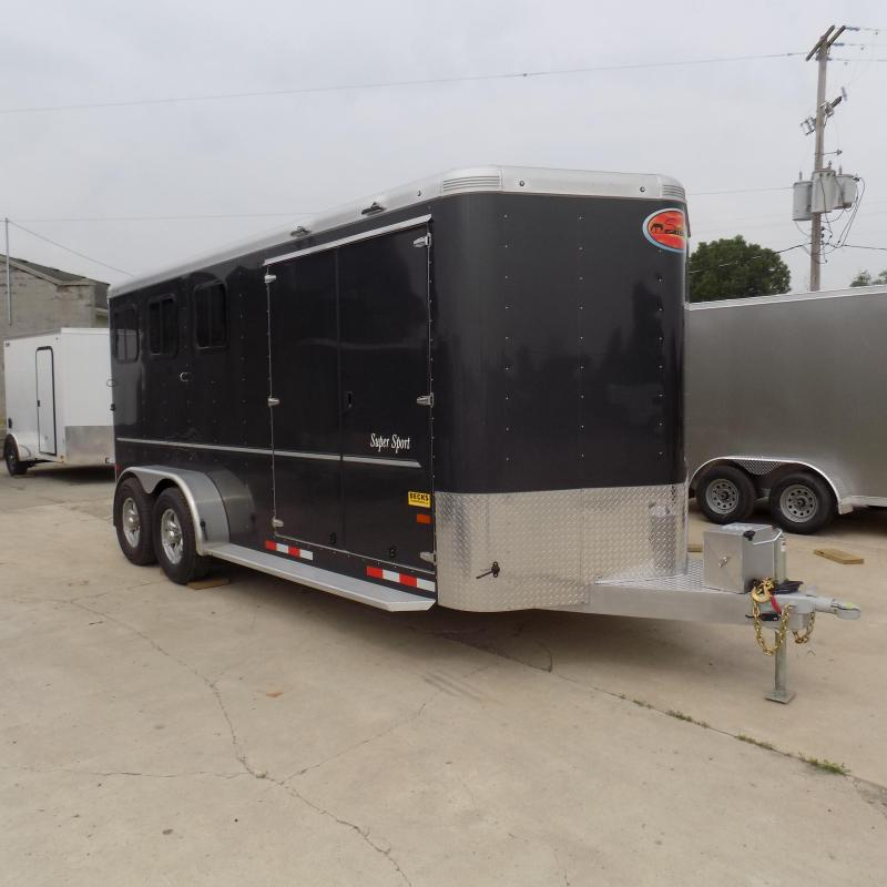 New Sundowner Super Sport 3 Horse Slant Load Trailer With Super Tack