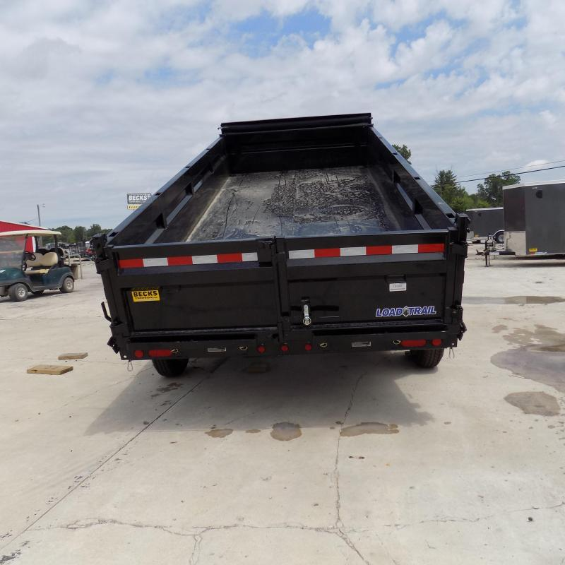 "New Load Trail 83"" X 16' Gooseneck Dump Trailer For Sale"