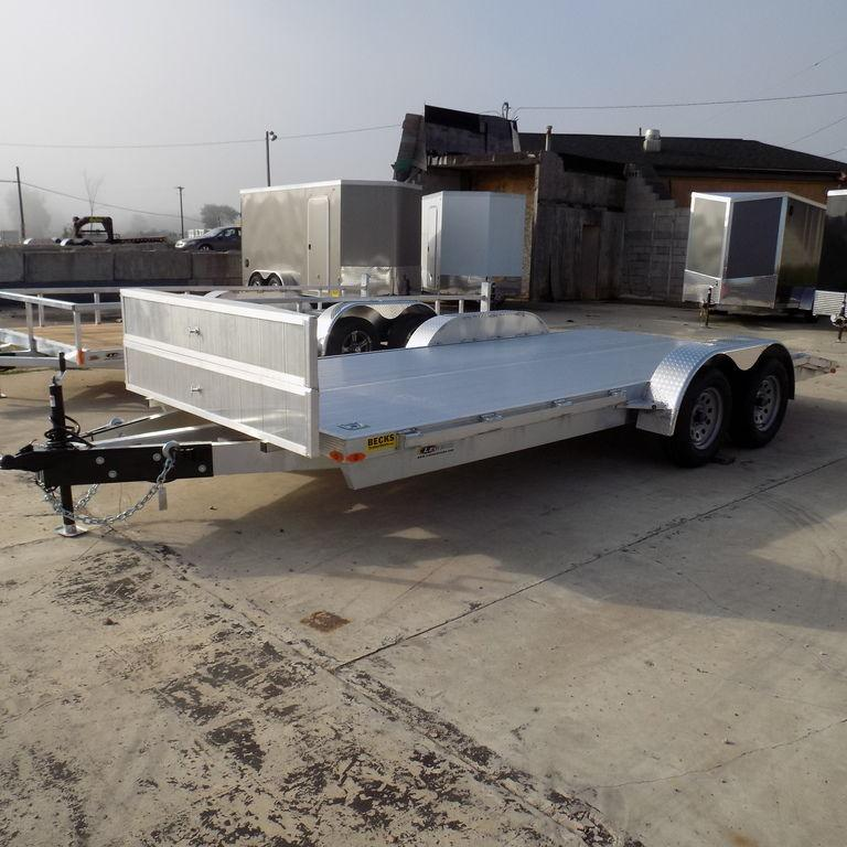 New Legend Trailers Aluminum Open Car Hauler