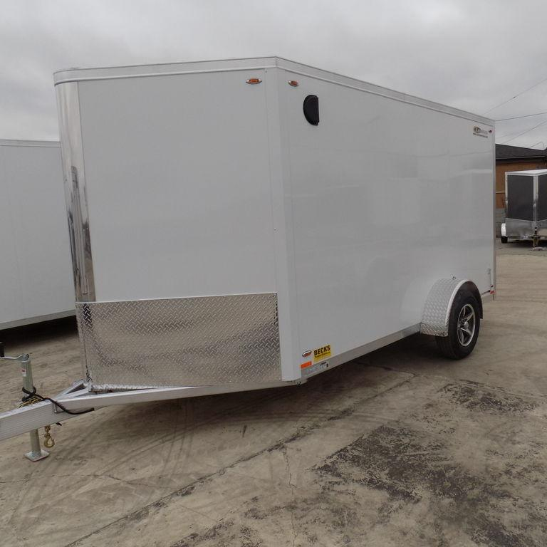 New Legend FTV 7' X 15' Aluminum Enclosed Cargo Trailer For Sale-Payments $99/mo.