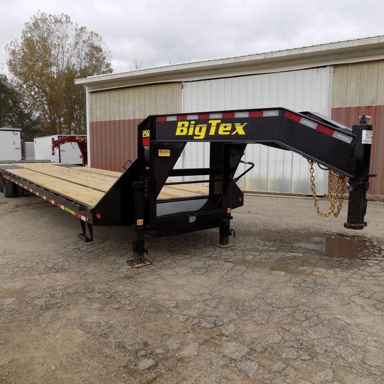 "New Big Tex 102"" x 35' + 5' Gooseneck Trailer - 25900 GVWR"