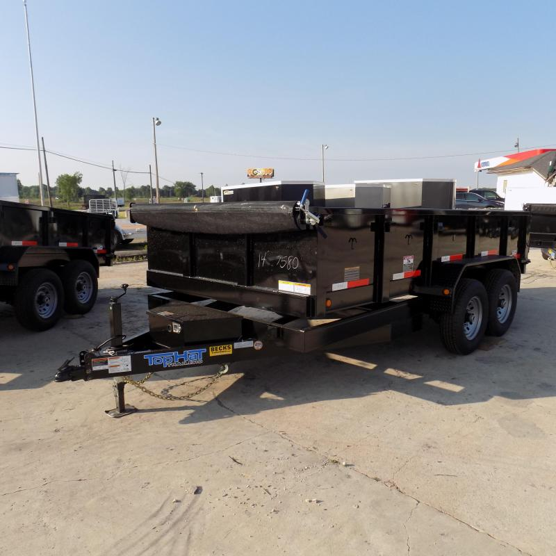 """New Top Hat Trailers 83"""" x 14' Dump Trailer For Sale"""