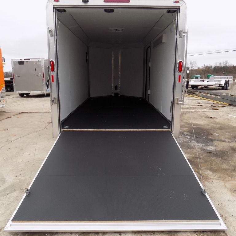 New Legend Deluxe V Nose 7' x 17' Aluminum Enclosed Cargo Trailer