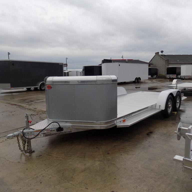 New Sundowner 20' Aluminum Open Car Hauler-Payments of $139/mo.