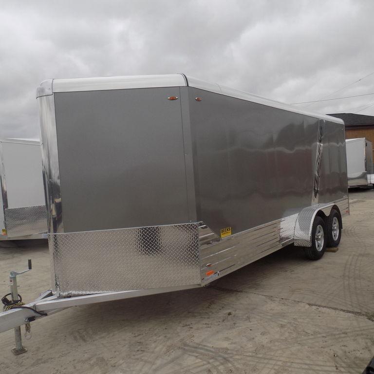 New Legend Deluxe 7' x 21' Aluminum Enclosed Cargo Trailer