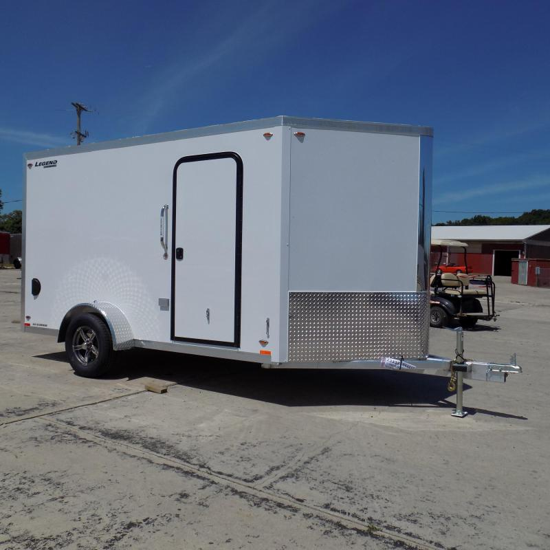New Legend FTV 7' X 15' Aluminum Enclosed Cargo Trailer For Sale