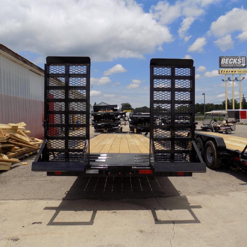 "New Diamond C Trailers 82"" x 24' Equipment Trailer - 10K Axles"